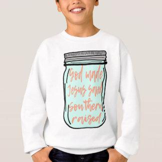 Sweatshirt Pot de maçon augmenté du sud