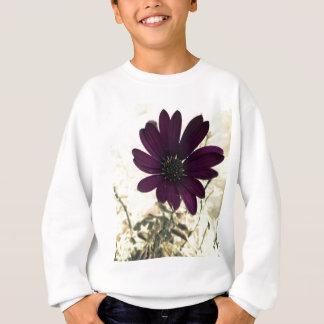 Sweatshirt pourpre africain de marguerite