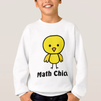 Sweatshirt Poussin de maths