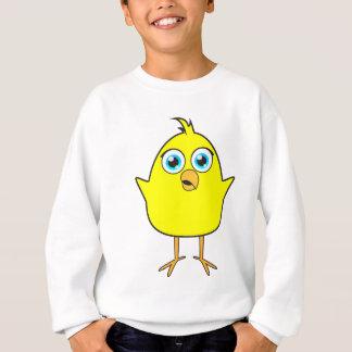 Sweatshirt Poussin jaune