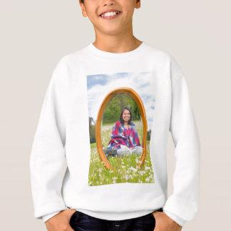 Sweatshirt Pré de miroir au printemps avec reposer la jolie