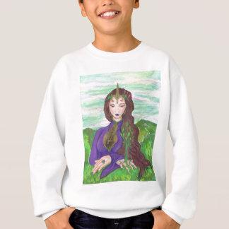Sweatshirt Princesse Healing Earth Plant Growing de licorne