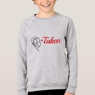 Sweatshirt Pris par l'amour - cupidon