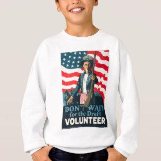 Sweatshirt Propagande américaine