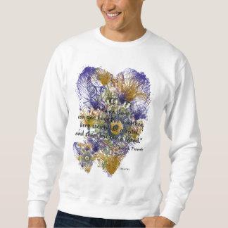 Sweatshirt Proverbe espagnol abstrait floral pour des tantes