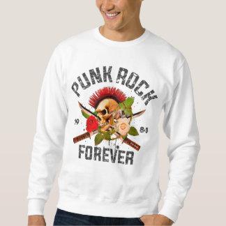Sweatshirt Punk rock pour toujours