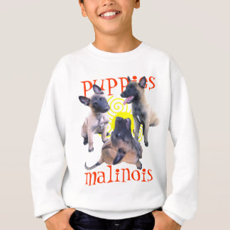 Sweatshirt puppies malinois