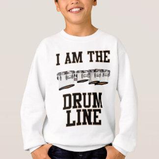 Sweatshirt Quadruples : Je suis la ligne de tambour