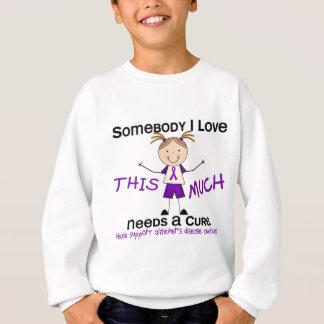 Sweatshirt Quelqu'un amour d'I - la maladie d'Alzheimers