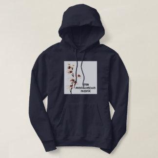 Sweatshirt réclusif d'orchidée de moine