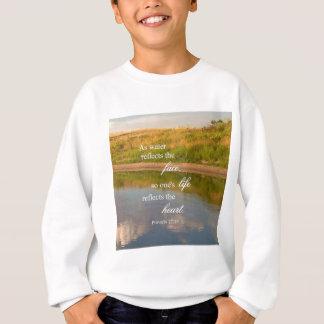 Sweatshirt Réflexion de l'eau