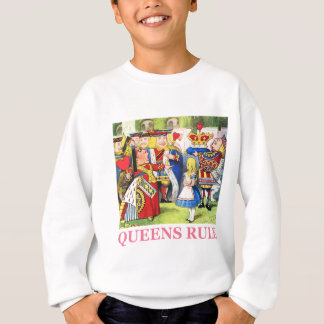 Sweatshirt Règle de la Reine