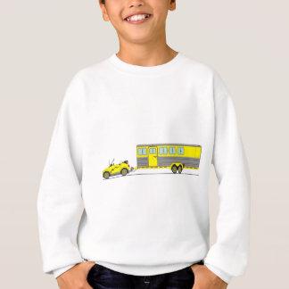 Sweatshirt Remorque de cheval de voiture d'Eco