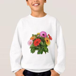 Sweatshirt Ressort Flowres - Gerberas