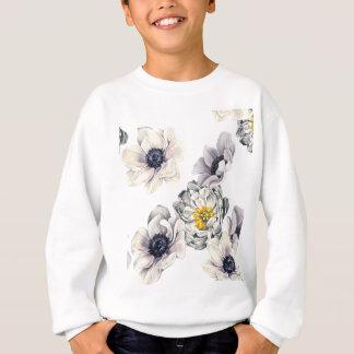 Sweatshirt Ressort frais de fleur d'anémone florale de