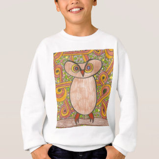 Sweatshirt Rétro hibou