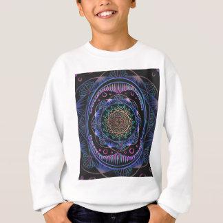 Sweatshirt Réveil du motif de zen, reiki, guérissant, chakra