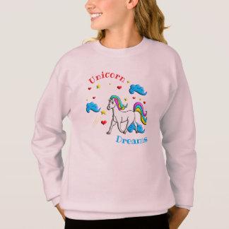 Sweatshirt Rêves de licorne