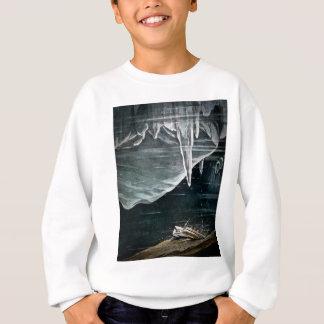 Sweatshirt RMS Titanic sous la mer et les icebergs vintages