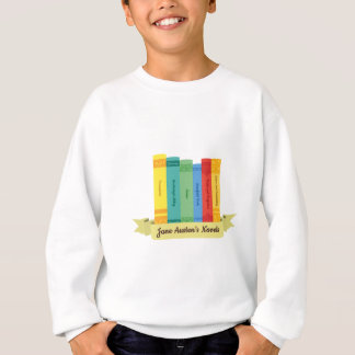 Sweatshirt Romans de Jane Austen III