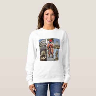 Sweatshirt Rome le collage de ville éternelle