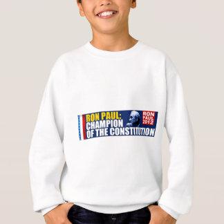 Sweatshirt Ron Paul : Champion de la constitution
