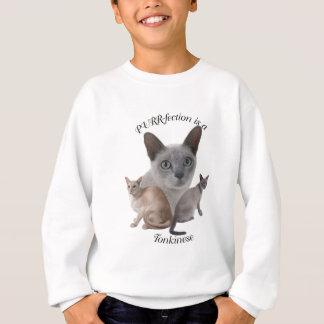 Sweatshirt Ronronnement-fection Tonkinese