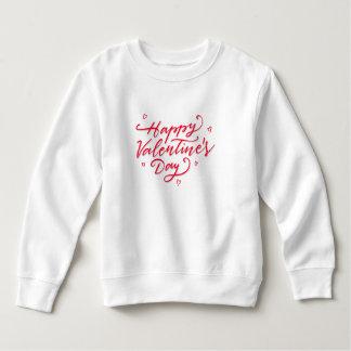 Sweatshirt rose de la heureuse Sainte-Valentin |