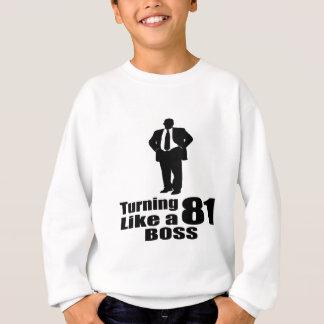 Sweatshirt Rotation de 81 comme un patron