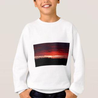 Sweatshirt Rouge la nuit, plaisir de marins
