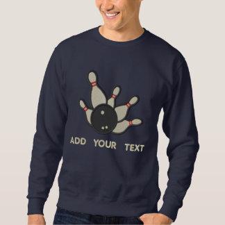 Sweatshirt Roulement - éclaboussure - ajoutez votre texte