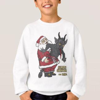 Sweatshirt Salutations de vacances de Krampus (et de Père