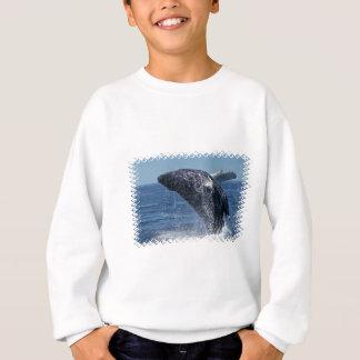 Sweatshirt sautant de la jeunesse de baleine de