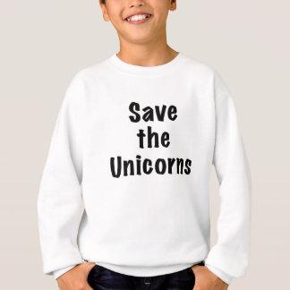 Sweatshirt Sauvez les licornes