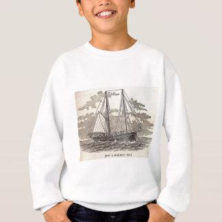 Sweatshirt Schooner vintage de flétan