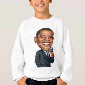 Sweatshirt Série de caricature de Barack Obama