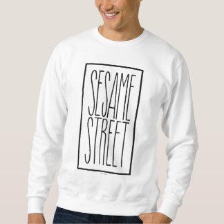 Sweatshirt Sesame Street empilé