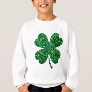 Sweatshirt shamrock 18 mars 1