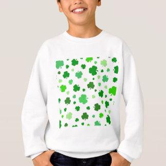 Sweatshirt Shamrocks irlandais verts