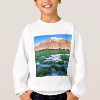 Sweatshirt Sierra est de vallée de Tom Owens de bâti de