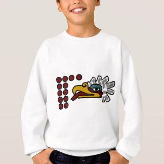 Sweatshirt Signe aztèque de jour de 12 Eagle