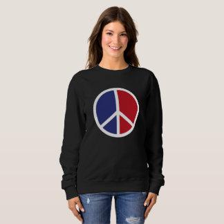 Sweatshirt Signe de paix et d'amour
