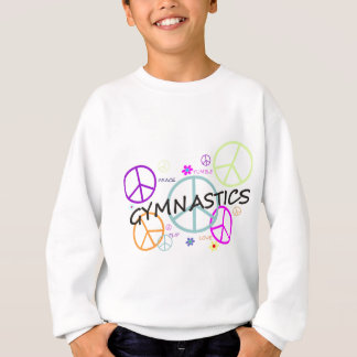 Sweatshirt Signes de paix de gymnastique