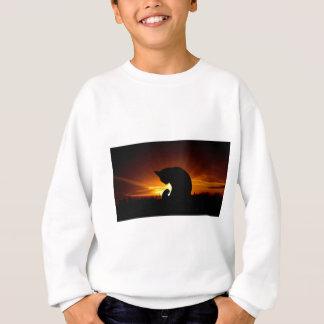 Sweatshirt Silhouette de coucher du soleil
