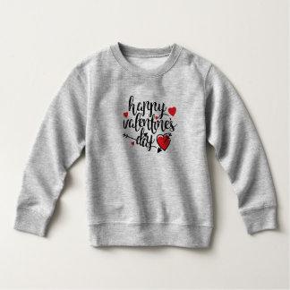 Sweatshirt simple de la heureuse Sainte-Valentin |