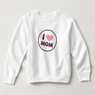 Sweatshirt simple du jour de mère de maman d'amour