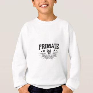 Sweatshirt singe dans l'art d'étiquette