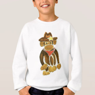 Sweatshirt Singe de cowboy