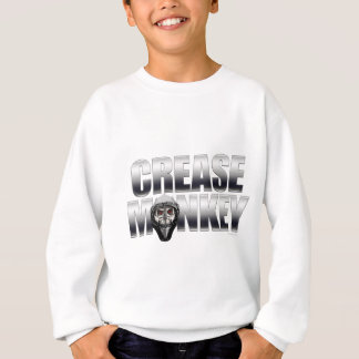 Sweatshirt Singe de pli (gardien de but d'hockey)