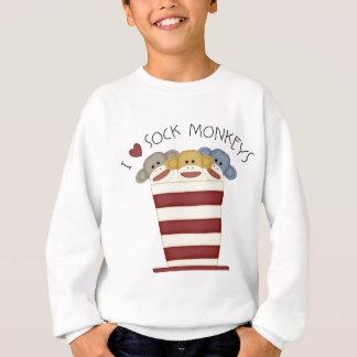 Sweatshirt Singes de chaussette